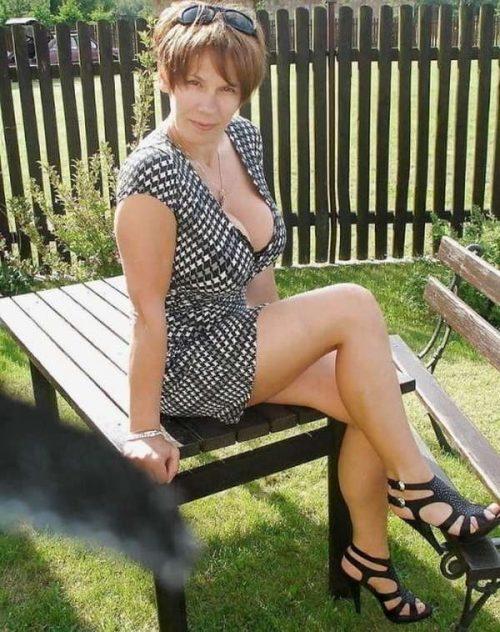 Solange une veuve cougar de Grasse pour Un macho pour femme mûre
